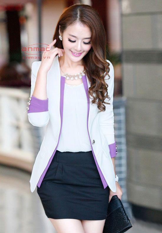 áo vest nữ công sở Anmac Việt Nam