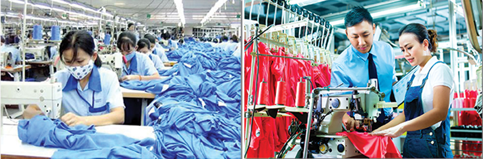 cong-nhan-to-may Năng lực sản xuất Anmac Việt Nam