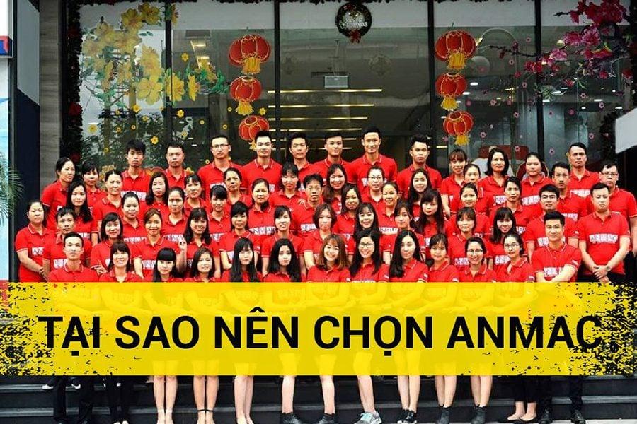 Tập thể cán bộ công nhân viên ANmac Việt Nam