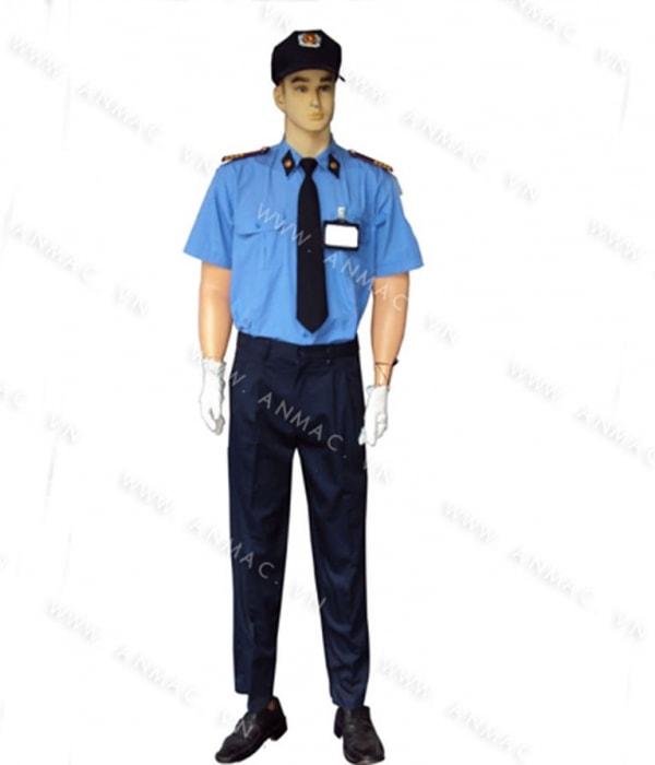 đồng phục bảo vệ bệnh viện may theo yêu cầu 23