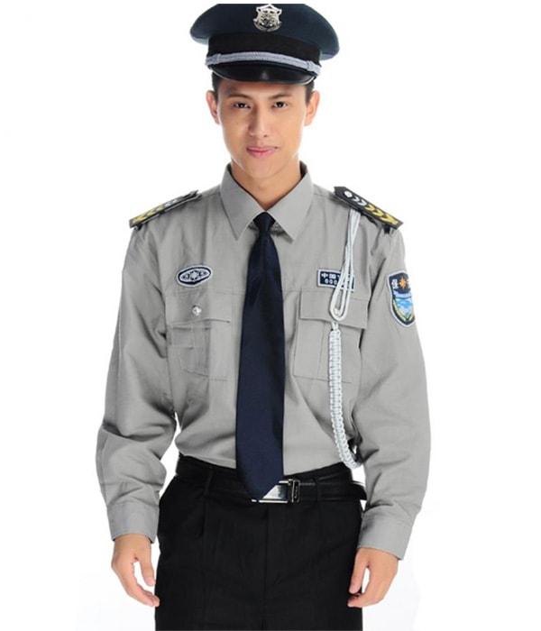 đồng phục bảo vệ bệnh viện may theo yêu cầu 25