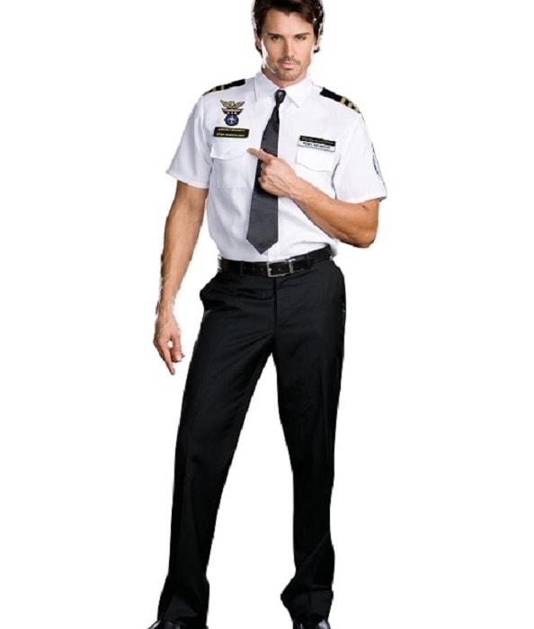 đồng phục bảo vệ bệnh viện may theo yêu cầu 24
