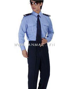 đồng phục bảo vệ bệnh viện may theo yêu cầu 04