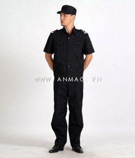 đồng phục bảo vệ bệnh viện may theo yêu cầu 05