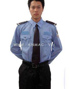 đồng phục bảo vệ bệnh viện may theo yêu cầu 08