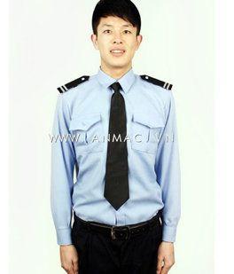 đồng phục bảo vệ bệnh viện may theo yêu cầu 09