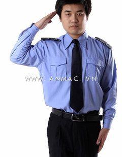 đồng phục bảo vệ bệnh viện may theo yêu cầu 10