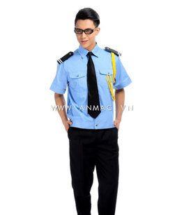 đồng phục bảo vệ bệnh viện may theo yêu cầu 11