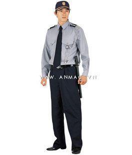 đồng phục bảo vệ bệnh viện may theo yêu cầu 14