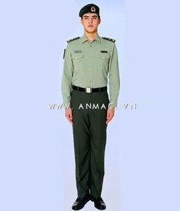 đồng phục bảo vệ bệnh viện may theo yêu cầu 16