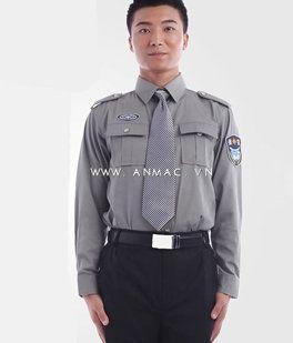 đồng phục bảo vệ bệnh viện may theo yêu cầu 17