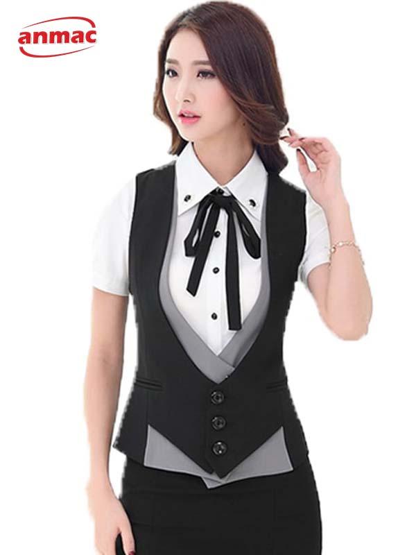 Áo gi lê nữ công sở đẹp