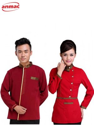 Đồng phục lễ tân nhà hàng - khách sạn 15