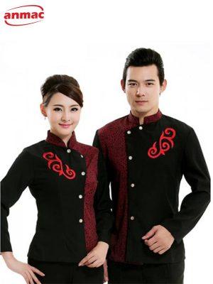 Đồng phục lễ tân nhà hàng - khách sạn 13