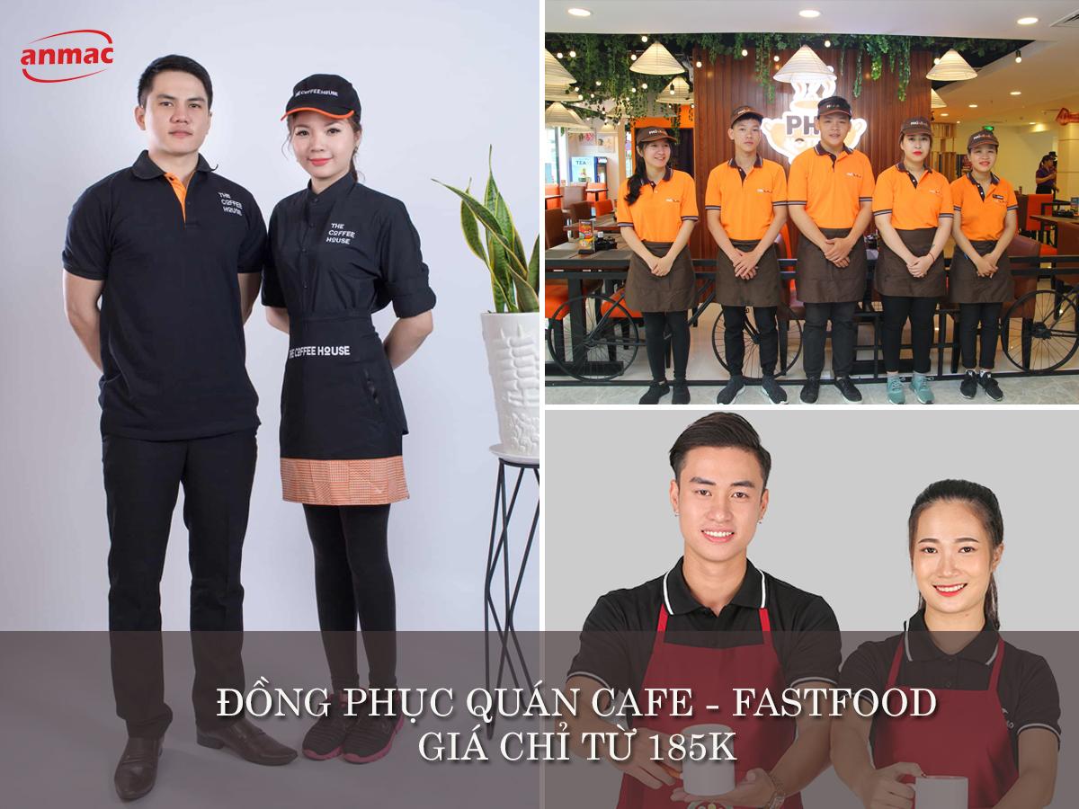 đồng phục nhà hàng nhân viên