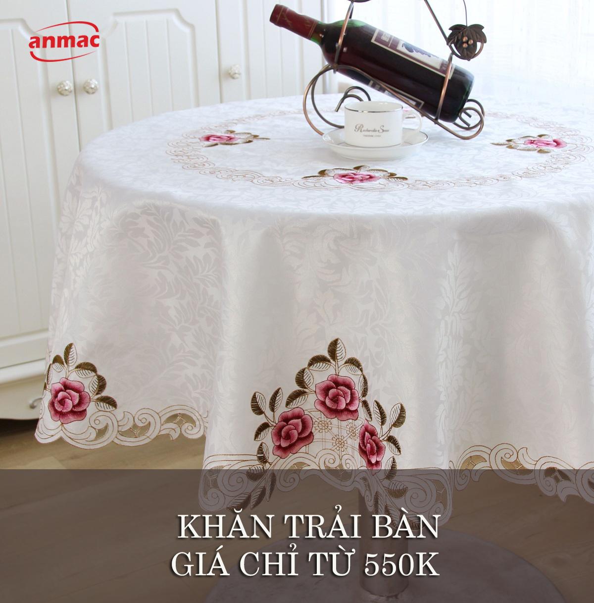 đồng phục khăn ăn khăn trải bàn